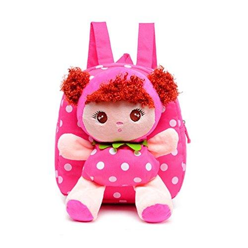 Swesy Kids Toddler Baby Boys Girls Backpack Plush Backpack Snack Bag Travel Bag for 1-3 Years