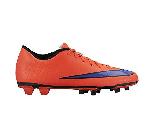 Nike Mercurial Vortex II FG Herren Fußballschuhe Bright Crimson/Persian Violet