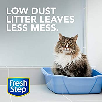 Fresh Step Ultra Unscented Litter, Clumping Cat Litter, 20 Pounds