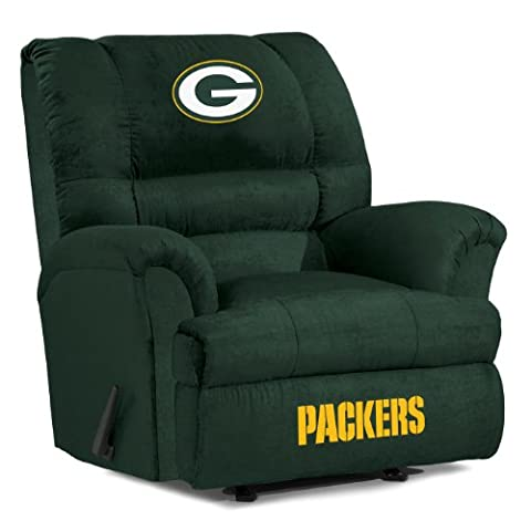 Imperial Officially Licensed NFL Furniture: Big Daddy Microfiber Rocker Recliner, Green Bay Packers (Packers Rocking Chair)