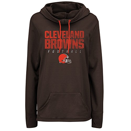 - Cleveland Browns Women's Majestic Speed Fly Cowl Neck Hoody (XX-Large)