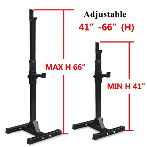 Sportmad Pair Of Dumbbell Rack Adjustable Standard Solid