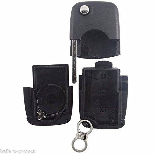 AUDI KLAPPSCHL/ÜSSEL GEH/ÄUSE SCHL/ÜSSEL FERNBEDIENUNG F/ÜR CR2032 KNOPFZELLEN KS03 Audi A1 A3 A4 A6 Q5 Q7 TT