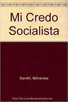 Book Mi Credo Socialista (Spanish Edition)