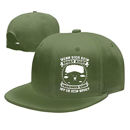 Enjoytm Sport Fallschirmspringen Baseball Cap Trucker Hats Adjustable Dad Hat Peaked Flat for Men Women (Fallschirmspringen Shop)