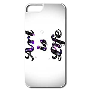 Case Funny For Iphone 5/5S - Art Life