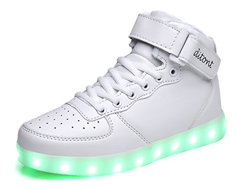 White Led Light Up Shoes in Florida - 7