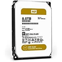 WD Gold 8TB high-capacity datacenter hard drive