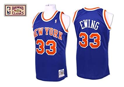 check out 3c5fd 1dde5 Amazon.com : NBA Mitchell & Ness Patrick Ewing New York ...