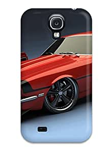 High-end Case Cover Protector For Galaxy S4(s Police Car)