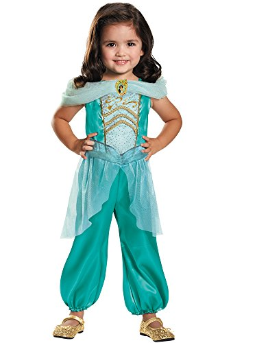 Jasmine Toddler Classic Costume, Medium (3T-4T)