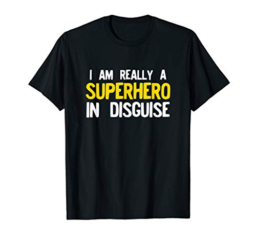 Superhero Costume Funny Pajama Halloween Shirt Gift Idea ()