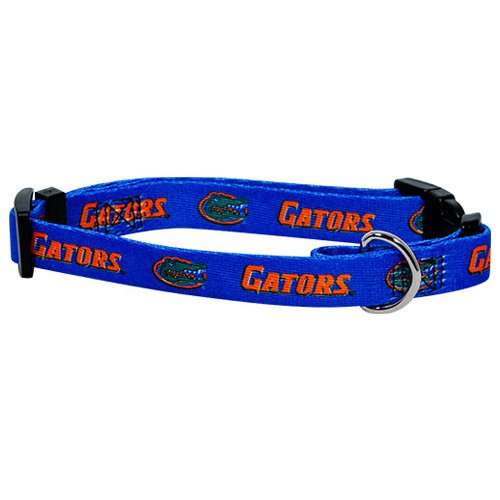 Hunter MFG Florida Gators Dog Collar, Large