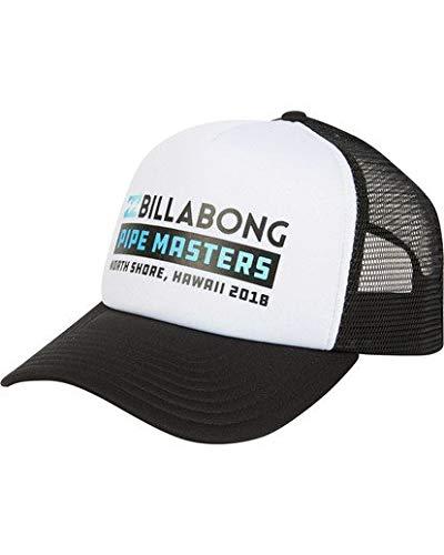 Billabong Men's Pipe Masters Trucker Hat Black/White One Size (Masters Hat Trucker)