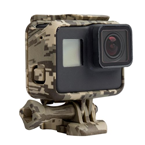 Price comparison product image Dreamyth Camouflage Cover Up PC Housing case For GoPro Hero 5 Camera (Grey)
