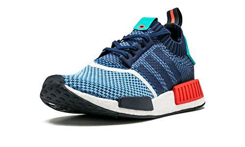 Adidas Mens Nmd_r1 Pk Packers Cielo Chiaro / Nylon Blu Scuro Taglia 10,5