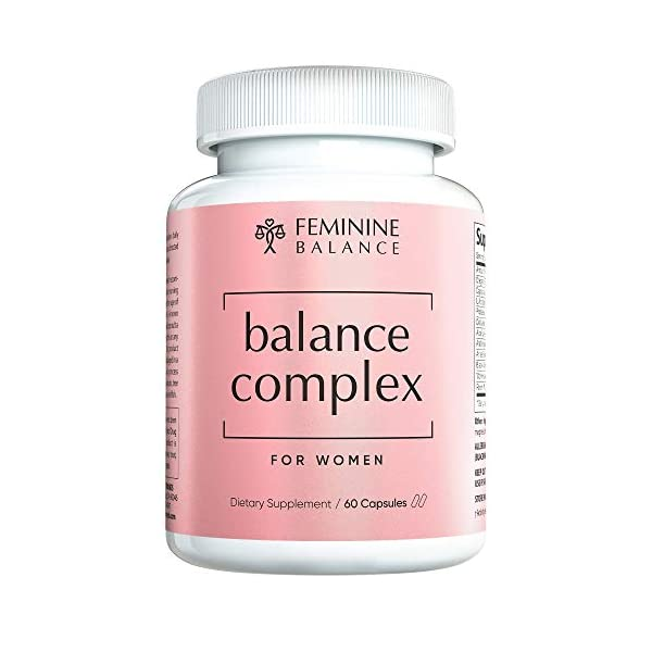 Balance Complex Vaginal Health Dietary Supplement, 60 Capsules 9