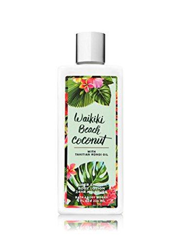- Bath & Body Works Waikiki Beach Coconut Super Smooth Body Lotion, 8 Ounce