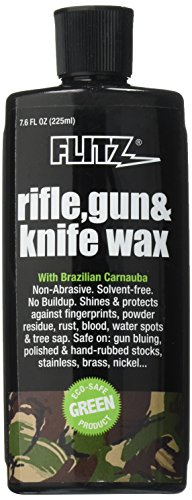 Flitz GW 02785 Off White Rifle and Gun Waxx, 7.6 oz. Bottle