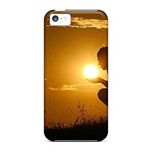 linJUN FENGIphone Covers Cases - Sun Amber Protective Cases Compatibel With iphone 6 plus 5.5 inch