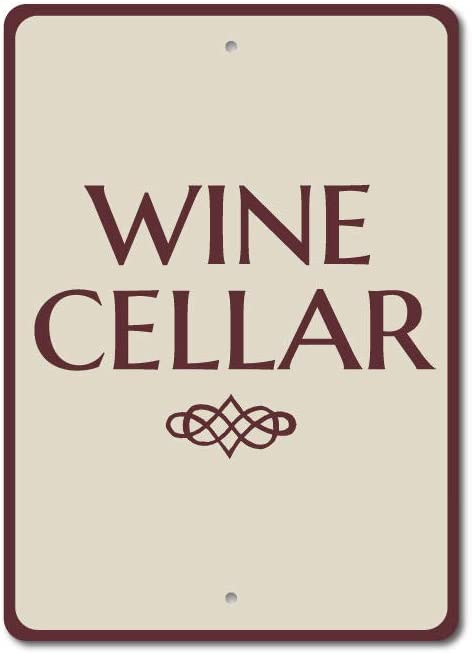 "Wine Cellar Sign, Wine Cellar Decor, Wine Cellar Gift, Wine Lover - 10"" x 14"""