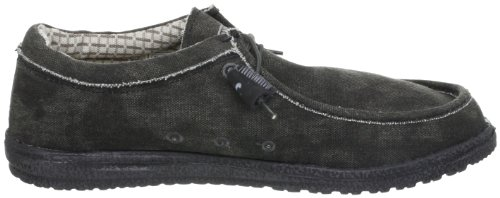 Hey Dude Mens Wally L Shoes Black