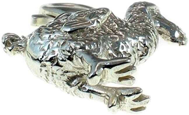 Welded Bliss Argent Charm Dodo Bird Clip Coupe Wbc1136