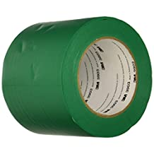 TapeCase 3903 4in X 50yd Green Vinyl Duct Tape (1 Roll)