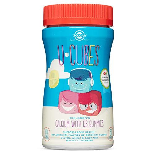 Solgar, U-Cubes Calcium with D3 Gummies, 60 Count