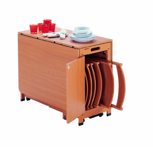 Foppapedretti copernico tavolo pieghevole: amazon.it: casa e cucina