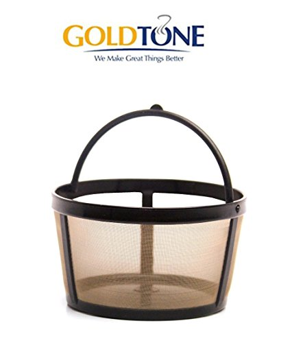 GoldTone Reusable Basket Coffee Replacment