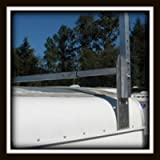 Universal Aluminum Trailer Ladder Rack