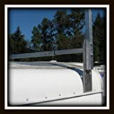 Universal Aluminum Trailer Ladder Rack