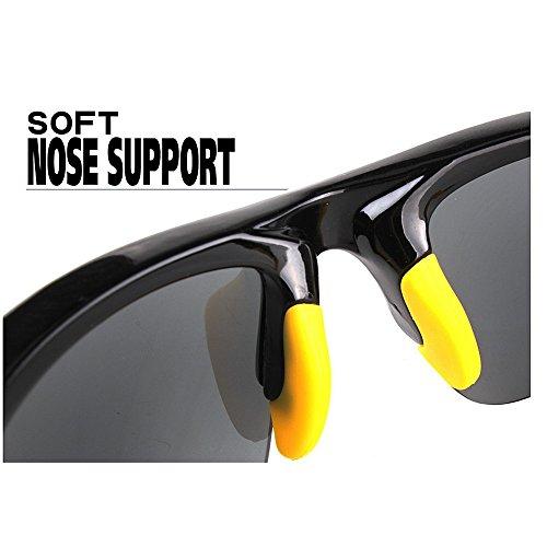 Gafas para para A Gafas De Deportes Blanco Gafas LBY Prueba Sol Montar Viento Aire Al Polarizer Gafas Hombre Blanco Color De Libre de SUqxpd