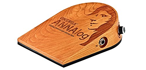 Ortega Guitars ANNALOG Stomp Box with Built-in Sound Optimized Piezo Technology by Ortega Guitars