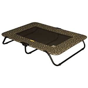 Pet Gear Designer Cot for cats and dogs up to 200-pounds, 50-inches, Tan Bone