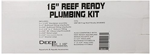 Deep Blue Professional ADB12993 Reef Ready Plumbing Kit for Aquarium, 12-Inch by Deep Blue Professional