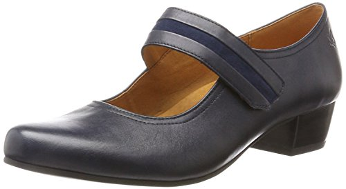 Caprice Women's 24302 Closed-Toe Pumps Blue 95RVOt0