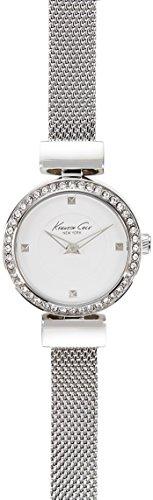 Kenneth Cole New York Women's 10022303 Classic Analog Display Japanese Quartz Silver Watch