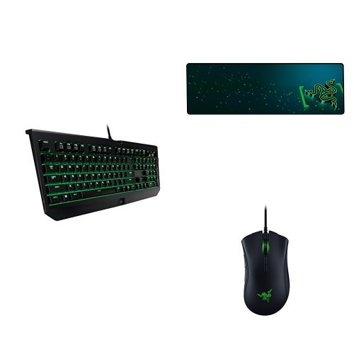Razer Blackwidow Ultimate Mechanical Deathadder
