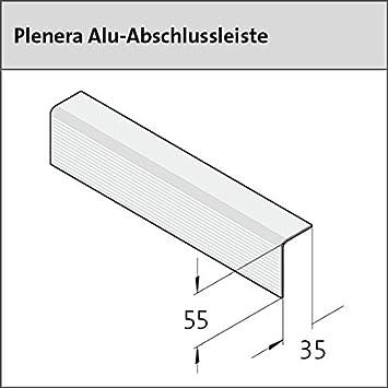 Ter Diagram | Ter Hurne Plenera Abschlussleiste Alu Bronze Eloxiert 35 X55