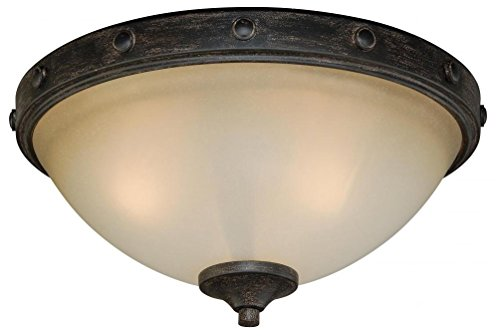 Vaxcel C0076 Halifax Flush Mount, 14-1/2