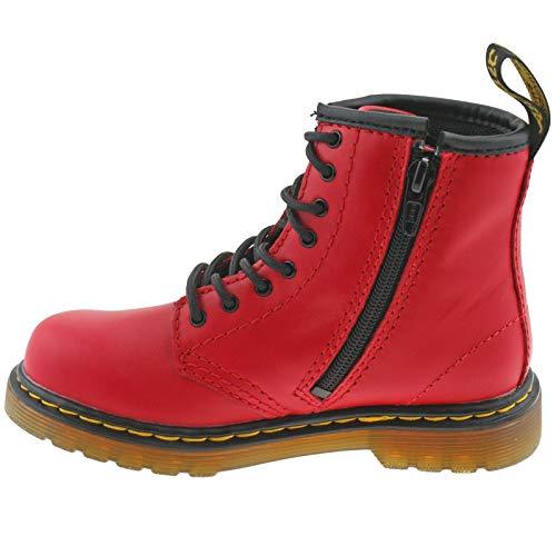 Dr Side Zip uk 6 Satchel eu T Leather Martens Red Infants 23 Romario Boots Soft 1460 r0xwqranA