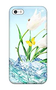 gloria crystal's Shop Best First-class Case Cover For Iphone 5/5s Dual Protection Cover Flower