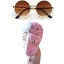 Pop Fashionwear Women's Trapper Winter Ear Flap Hat P136