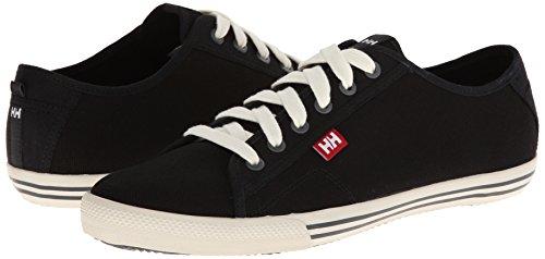 Helly Hansen Fjord Canvas Zapatos de cordones oxford, Hombre, Negro (Negro 990), 42.5 EU (8.5 UK)