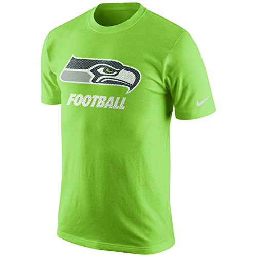 Seattle Seahawks Football Nike Facility Shirt XXL 2XL