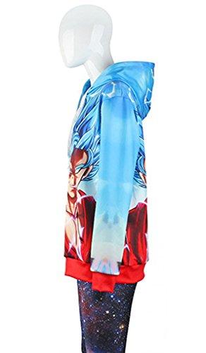 Para Mujer Sudadera Belsen Con Azul Capucha IFWSt