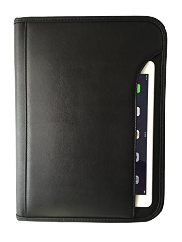 "ImpecGear Padfolio Zippered Portfolio Interior 10.1 Inch Tablet Sleeve, Organizer Document Holder W/ Notepad & Pen Slot, Calculator (10"" x 13.5"" x 1.5"") from ImpecGear"