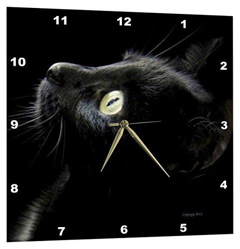 3dRose black Cat Face dpp 23822 3